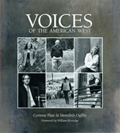 book cover for voices of the american west